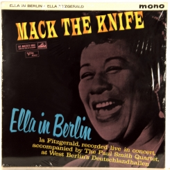 272. FITZGERALD, ELLA-MACK THE KNIFE (MONO)-1960-ПЕРВЫЙ ПРЕСС UK-HIS MASTER'S VOICE-NMINT/NMINT