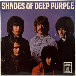 97. DEEP PURPLE-SHADES OF DEEP PURPLE-1969-ВТОРОЙ ПРЕСС GERMANY-ODEON-NMINT/NMINT