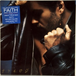 128. MICHAEL, GEORGE-FAITH-1987-ПЕРВЫЙ ПРЕСС HOLLAND-EPIC-NMINT/NMINT
