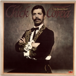 259. CHICK COREA-MY SPANISH HEART-1976-ПЕРВЫЙ ПРЕСС(PROMO) USA-POLYDOR-NMINT/NMINT