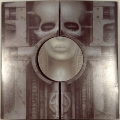 51. EMERSON, LAKE & PALMER-BRAIN SALAD SURGERY-1973-FIRST PRESS UK-MANTICORE-NMINT/NMINT