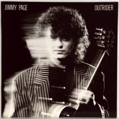 86. PAGE, JIMMY-OUTRIDER-1988-ПЕРВЫЙ ПРЕСС UK/EU-GERMANY-GEFFEN-NMINT/NMINT