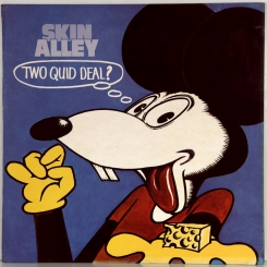 15. SKIN ALLEY-TWO QUID DEAL?-1972-ПЕРВЫЙ ПРЕСС UK-TRANSATLANTIC-NMINT/NMINT
