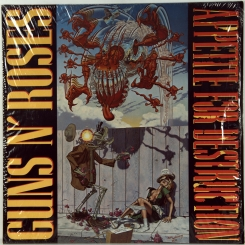 94. GUNS N' ROSES- APPETITE FOR DESTRUCTION-1987-FIRST PRESS GERMANY-GEFFEN-NMINT-NMINT