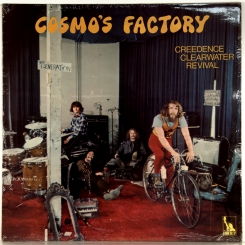 4. CREEDENCE CLEARWATER REVIVAL-COSMO'S FACTORY-1970-ПЕРВЫЙ ПРЕСС UK-LIBERTY-NMINT/NMINT