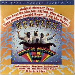 33. BEATLES-MAGICAL MYSTERY TOUR (HALFSPEED)-1981-ПЕРЕИЗДАНИЕ USA-MOBILE FIDELITY SOUND LAB-NMINT/NMINT