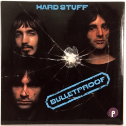 45. HARD STUFF-BULLETPROOF-1972-ПЕРВЫЙ ПРЕСС UK-PUPLE-NMINT/NMINT