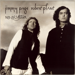 25. ROBERT PLANT & JIMMY PAGE-NO QUARTER-1994-FIRST PRESS UK-FONTANA-NMINT/NMINT