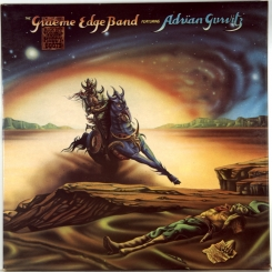 40. GRAEME EDGE BAND-KICK OFF YOUR MUDDY BOOTS -1975- FIRST PRESS UK-THRESHOLD-NMINT/NMINT
