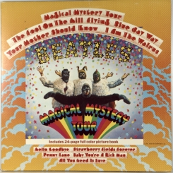 23. BEATLES-MAGICAL MYSTERY TOUR-1967-ПЕРВЫЙ ПРЕСС-UK-PARLOPHONE-NMINT-NMINT