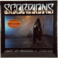 90. SCORPIONS-BEST OF ROCKERS N' BALLADS-1989-FIRST PRESS GERMANY-EMI-NMINT/NMINT