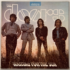 6. DOORS-WAITING FOR THE SUN-1968-ПЕРВЫЙ ПРЕСС UK-ELEKTRA-NMINT/NMINT