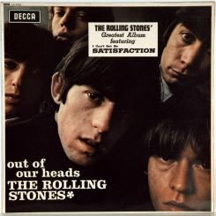 34. ROLLING STONES-OUT OF OUR HEADS (EXPORT MONO)-1965-ПЕРВЫЙ ПРЕСС UK-DECCA-NMINT/ARCHIVE