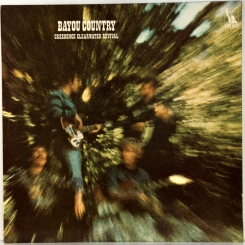 26. CREEDENCE CLEARWATER REVIVAL-BAYOU COUNTRY-1969-SECOND PRESS 1970 UK-LIBERTY-NMINT/NMINT