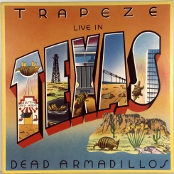 33. TRAPEZE-LIVE IN TEXAS-1981-ПЕРВЫЙ ПРЕСС UK-AURA-NMINT/NMINT