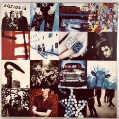 110. U2-ACHTUNG BABY-1991-fist press germany-island-nmint/nmint