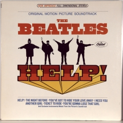 6. BEATLES-HELP! (ORIGINAL MOTION PICTURE SOUNDTRACK)-1965-ПЕРЕИЗДАНИЕ 1971 USA-CAPITOL-NMINT/NMINT