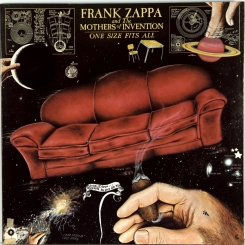 48. FRANK ZAPPA AND THE MOTHERS OF INVENTION-ONE SIZE FITS ALL-1975-ПЕРВЫЙ ПРЕСС USA-DISCREET-NMINT/NMINT