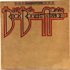 29. BECK, BOGERT & APPICE-BECK, BOGERT & APPICE-1973-FIRST PRESS USA(QUADRAPHONIC)-EPIC-NMINT/NMINT