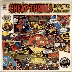 13. BIG BROTHER & THE HOLDING COMPANY-CHEAP THRILLS-1968-ПЕРВЫЙ ПРЕСС UK-CBS-NMINT/NMINT