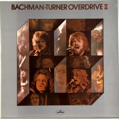 43. BACHMAN-TURNER OVERDRIVE-BACHMAN-TURNER OVERDRIVE II-1974-FIRST PRESS UK-MERCURY-NMINT/NMINT