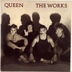 67. QUEEN-THE WORKS-1984-ПЕРВЫЙ ПРЕСС UK-EMI-NMINT/NMINT