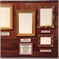 34. EMERSON, LAKE & PALMER-PICTURES AT AN EXHIBITION-1971-ПЕРВЫЙ ПРЕСС UK-ISLAND-NMINT/NMINT