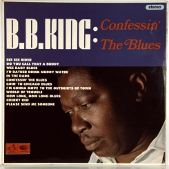 51. B.B. KING-CONFESSIN' THE BLUES-1965-FIRST PRESS UK-HIS MASTER'S VOICE-NMINT/NMINT