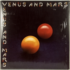 36. WINGS-VENUS AND MARS-1975-ПЕРВЫЙ ПРЕСС UK-CAPITOL-NMINT/NMINT