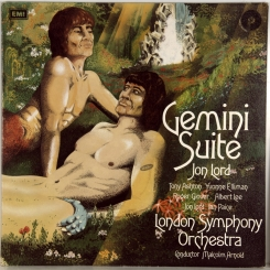 103. JON LORD / LONDON SYMPHONY ORCHESTRA-GEMINI SUITE-1971- ПЕРВЫЙ ПРЕСС UK-PURPLE-NMIT/NMINT