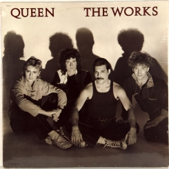 66. QUEEN-THE WORKS-1984-FIRST PRESS USA-CAPITOL-NMINT/NMINT