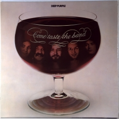 102. DEEP PURPLE-COME TASTE THE BAND-1975-первый пресс UK-purple rec.-nmint/nmint